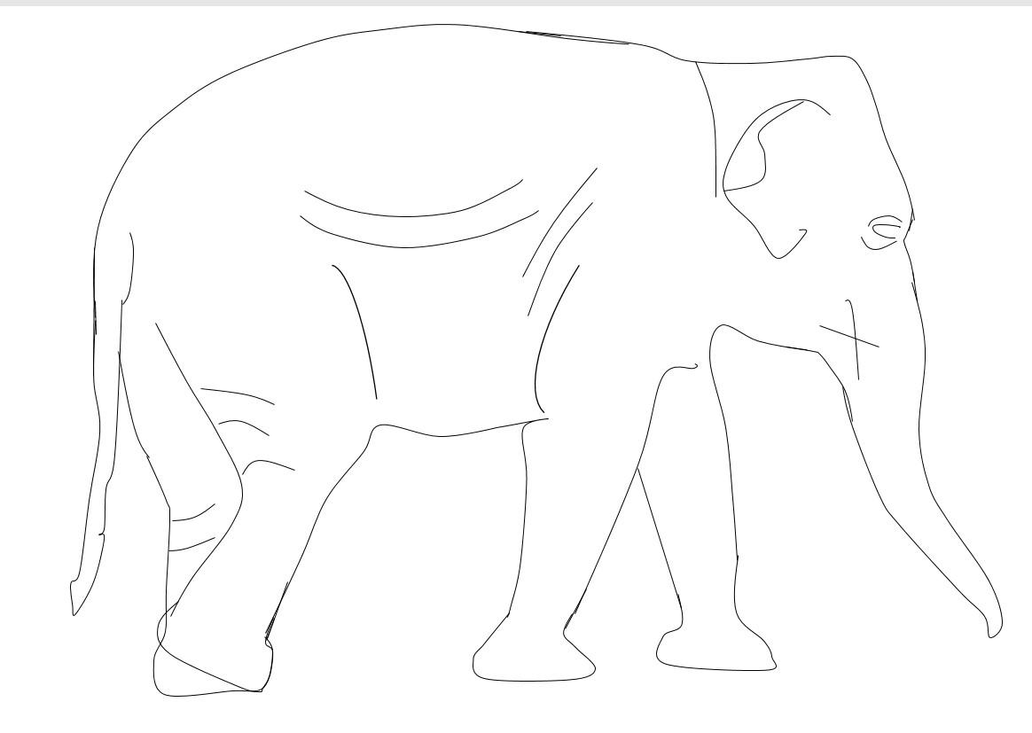 раскрась слона краски животные