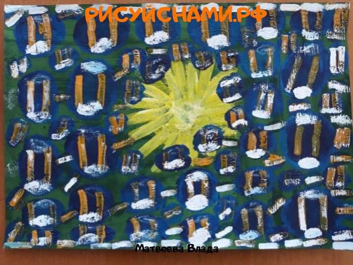 Всероссийский конкурс  Космическое путешествие Заявка 123803  всероссийский творческий конкурс рисунка для детей школьников и дошкольников (рисунок и поделка) - Матвеева Влада