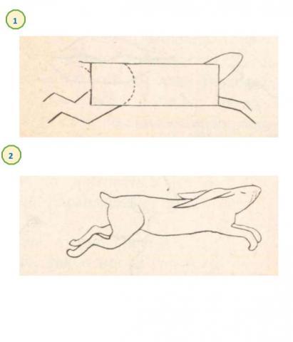 Учимся рисовать зайца поэтапно