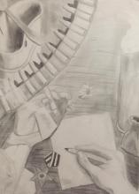 Конкурс Вечная память ВЕТЕРАНАМ рисуйснами.рф рисуй с нами рисунок