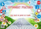 сертификат участника всероссийского творческого конкурса Правила дорожного движения ПДД Рисуй с нами Рисуйснами